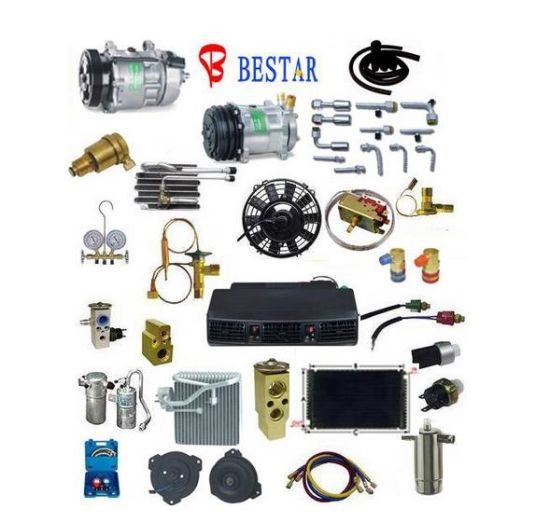 Auto Air Conditioner Spare Parts for All Kinds If Parts