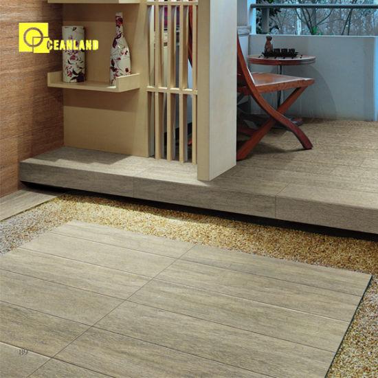 Wood Ceramic Floor Tile Designs 600X150