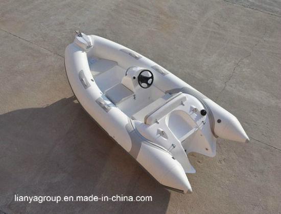 China Liya 3 8m Fiberglass Inflatable Boats Hypalon Rib