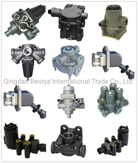 Load Sensing/Thread Connecting Valve, Gearbox Shift Valve, Relay Valve, Switch Valve, Control Valve, Release Valve, Hand Brake Valve for Hino/Mitsubishi/Isuzu pictures & photos