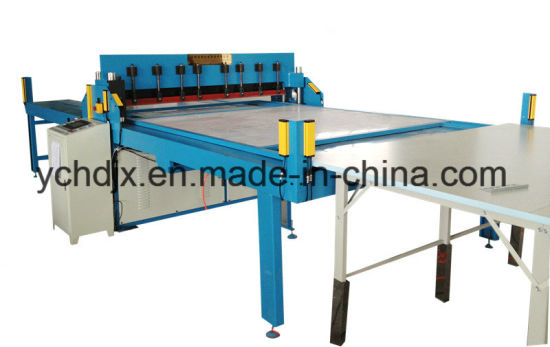 Fabric Sample Book Cloth Pattern Cutting Machine with PLC Controlled for Sale