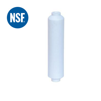 """NSF 10"""" Coconut Carbon Post Filter with Quick Connector"""