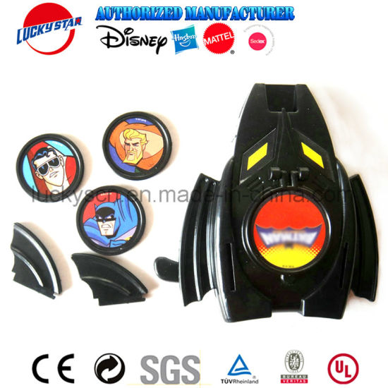 Fashion Batma Disc Shooter Plastic Toy for Boy Prize