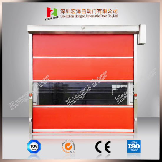 Automatic High Speed Rapid Rolling Door with PVC Curtain pictures & photos