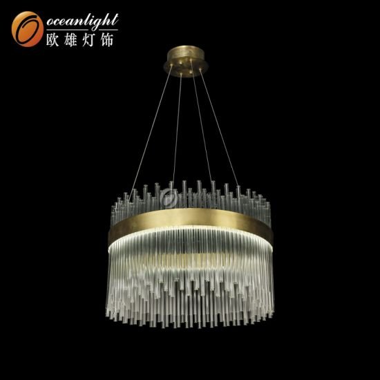 2018 Hot Sale Modern Crystal Chandeliers Lighting Glass Hanging Lamp (Om801786) pictures & photos