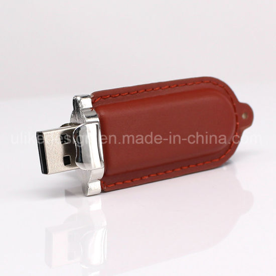 Mini Leather Style USB Flash Drive Flash Stick pictures & photos