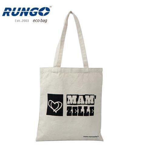 Factory Provide Screen Printing Logo Canvas Shopping Bag