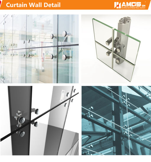 China Exterior Design Fabrication and Engineering Point Supported