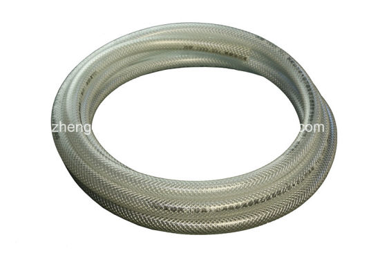 1/2′′ PVC Plastic Fiber Reinforced Braided High Pressure Air Spray Pipe Hose pictures & photos