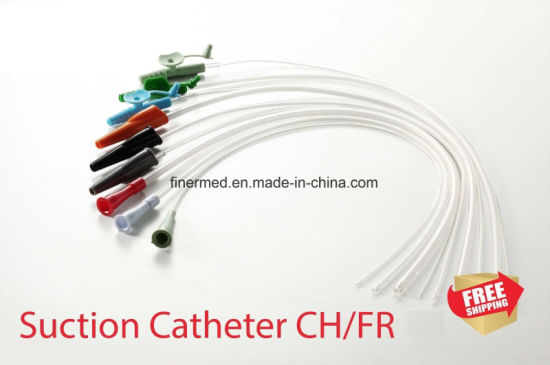 Sterile Medical Disposable Suction Catheter pictures & photos