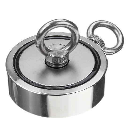 Free Sample Industrial Rare Earth Permanent Neodymium/NdFeB D75mm Pot Fishing Magnet