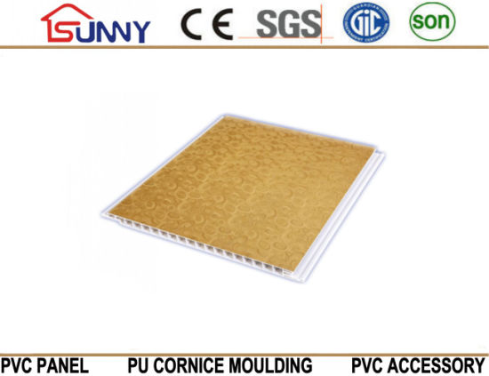 Wooden PVC Ceiling Panel for Decoration
