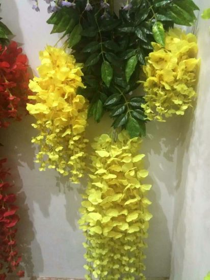 High Quality Artificial Flower of Westeria Gu12279937 pictures & photos