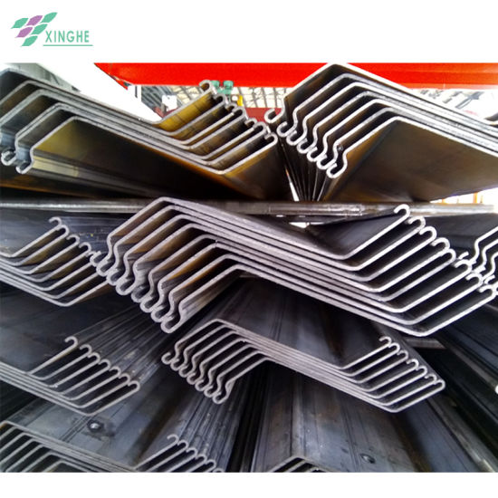Z Shape Cold Formed Steel Sheet Piling Made in China