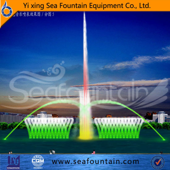Fountain Waterscape Full Color Laser Show Water Screen Fountain pictures & photos