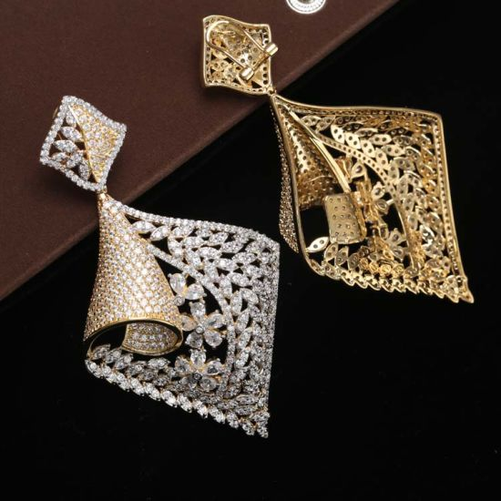 0 15717 Fashion Jewelry Gold Jhumka Earrings Design With Price