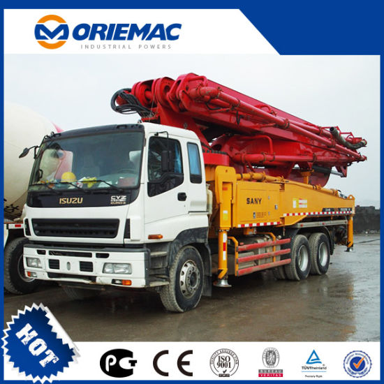 Sany Truck-Mounted Concrete Pump 56m pictures & photos