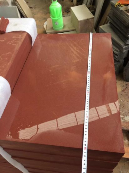 China Natural Red Sandstone Tiles for Floor and Wall