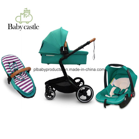 3 In 1 Travel System Stroller Baby With Carrycot And Car Seat