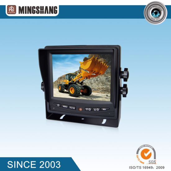 "5.6"" Vehicle Rear View System with Optional CCD&CMOS Backup Camera Good Night Vision pictures & photos"