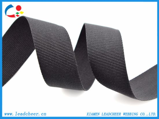 Black Polypropylene Webbing PP Webbing for Multiple Usage