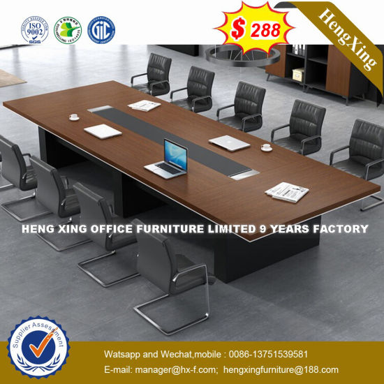 China Panel Triangle Meeting Room Square Conference Office Table HX - Square conference room table