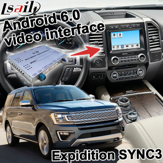 Lsailt Android GPS Navigation System for Ford Expidition Sync 3 Sony System Waze Yandex Mirror Link pictures & photos