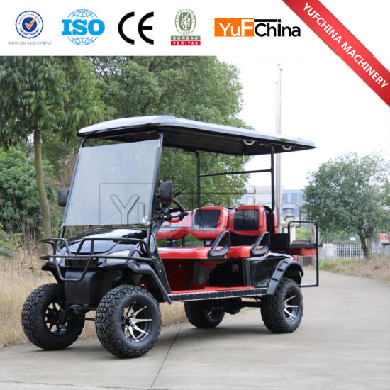 China Hot Sale 6 Seater 4 Wheel Drive Electric Golf Cart China