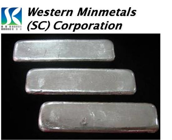 Indium Ingot 99, 993% at Western Minmetals pictures & photos