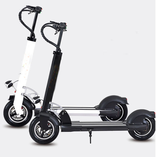 Aluminum Electric Motor Scooter with 400W Motor pictures & photos
