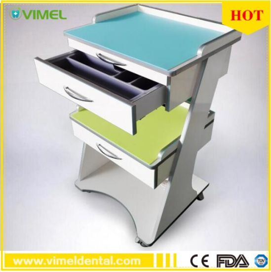 Dental Cabinet Equipment Mobile Trolley Trolley Desk pictures & photos