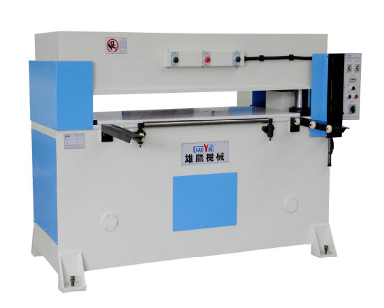 Precision Four Column Plane Leather Cutting Machine pictures & photos