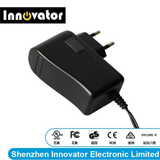 Certified 12V 1.5A 18W Wallmount Type Power Adapter