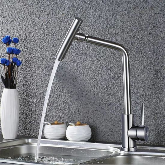China Special Design Brass Cebter Kitchen Sink Faucet China