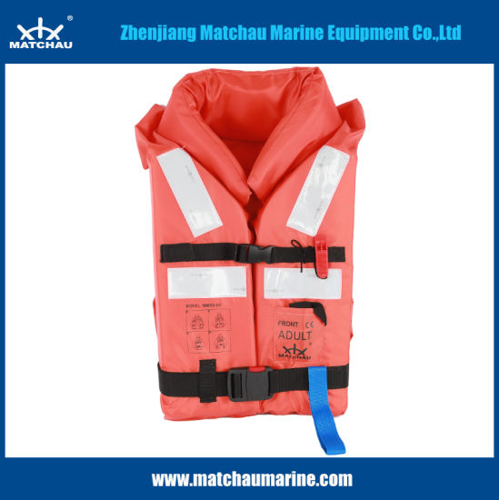 Whole Sale Orange Life Jacket with Reflective Tape