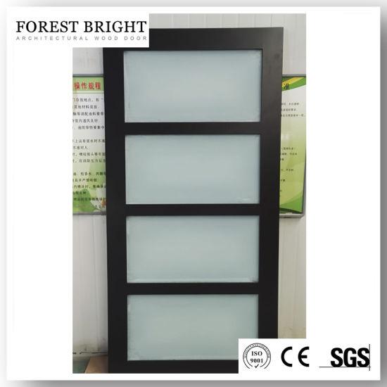 4 Panel Glass Wood Door In Canada, Glass Panel Interior Doors Canada