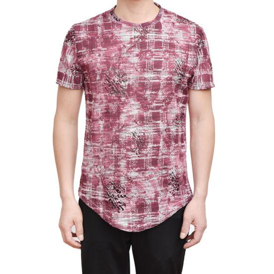 13dc014f Manufacturer Wholesale Men Printed Stylish Short Sleeves Round Neck T-Shirt