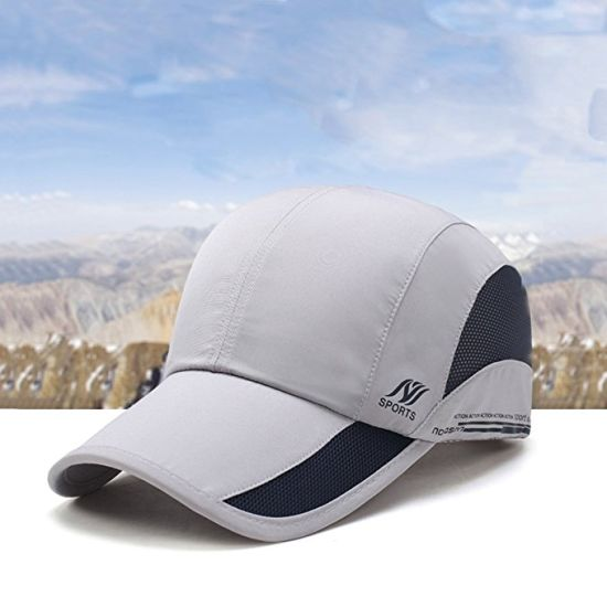 f332bac1daff4 Unisex Foldable Upf 50+ Quick Dry Baseball Cap with Long Bill Portable Sun  Hats pictures