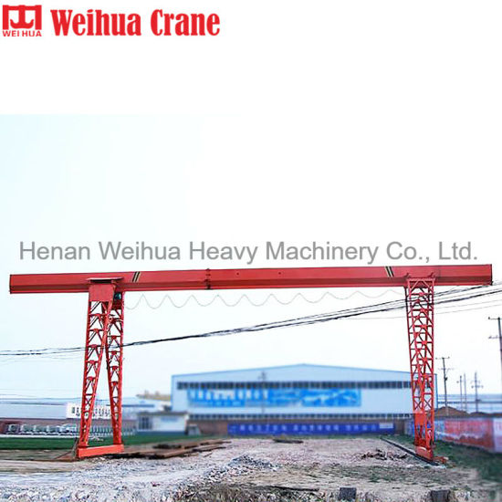 Portable Type Single Girder Gantry Crane a Form Gantry Crane 2t 3t 5t 10t