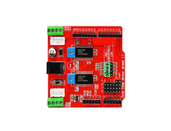 2-Channel Stepper Motor Driver Shield Board for Arduino