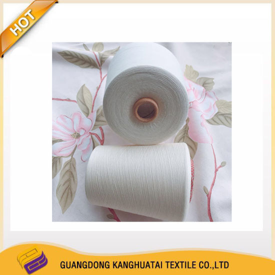 100% Australia Compact Cotton 60s Cotton Knitting Spun Weaving Polyester Grey Yarn Raw White