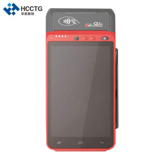 Hcc-Z100 4G EMV PCI POS Terminal Fingerprint + Laser Scanner Advanced  Multiple Function POS