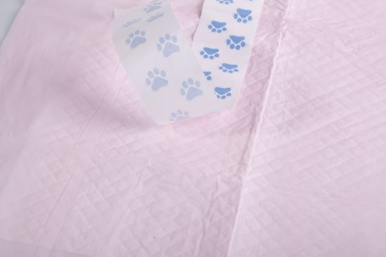 Disposable Underpad Pet Training Pad with Stickers for Dog and Cat pictures & photos
