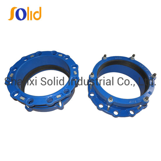 Ductile Iron Universal Flange Adaptors for PVC Pipe