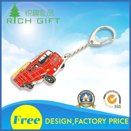 Wholesale China Custom Make Your Own Logo Metal Brass Logo Printing Epoxy Japan Anime Keychain