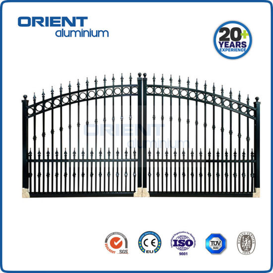 Wholesale Price Aluminium Gate Ornamental for Garden Driveway