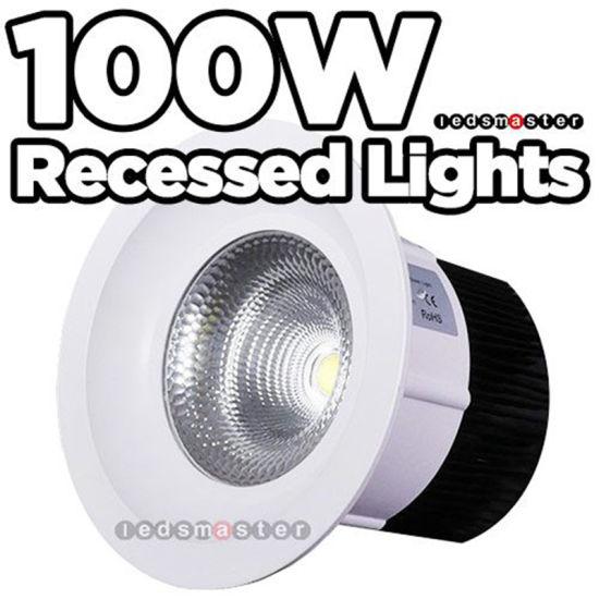 China Ip66 12000lm 8 Inch 100watt