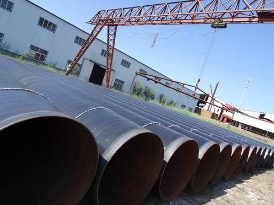 API 3PE Fbe Coating Spiral Welded Line Steel Pipe