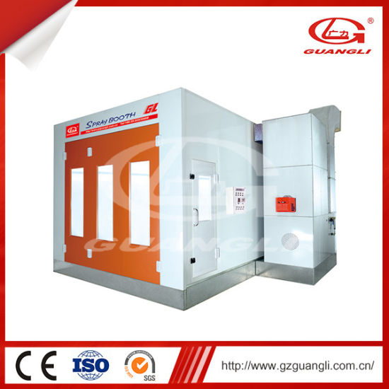Guangli Water-Based Paint Car Spray Booth Oven