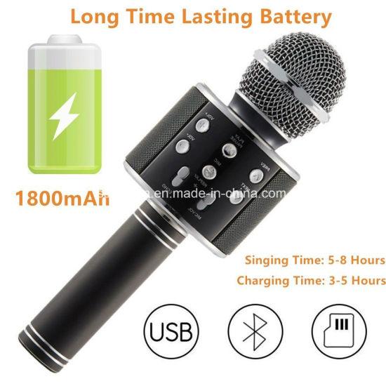 China Mikrofon Handheld Bluetooth Wireless Karaoke